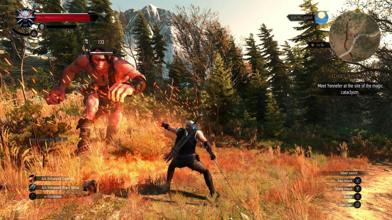The Witcher 3 sarà bello da vedere anche su console, parola di CD Projekt RED