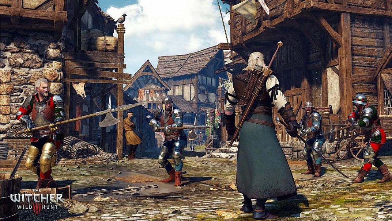 The Witcher 3: il trailer di debutto ricreato con Microsoft Paint