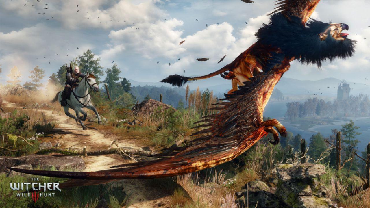 The Witcher 3 Wild Hunt: sarà possibile imbattersi in più di un Grifone durante il viaggio