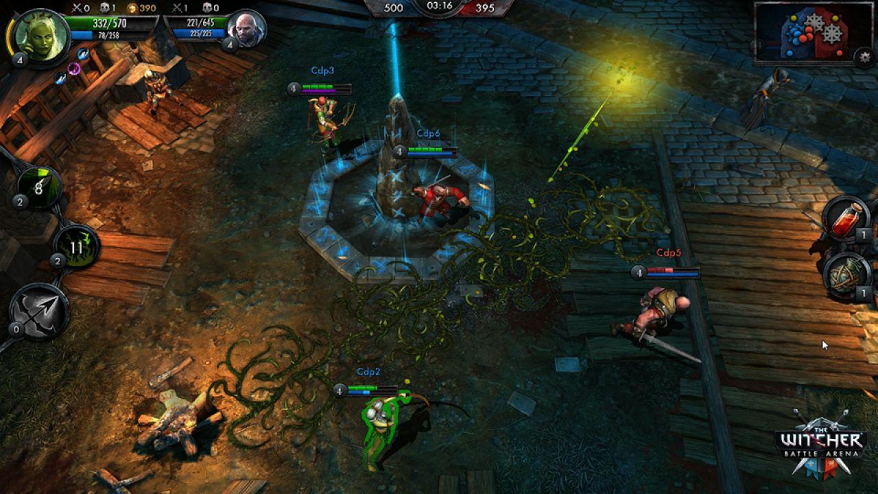The Witcher Battle Arena: svelata la data di lancio