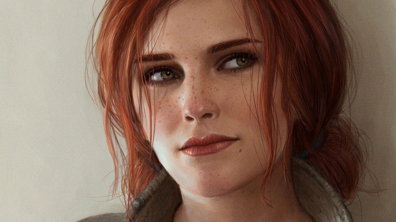 The Witcher: un cosplay di Triss Merigold fa tornare in vita la maga fiammeggiante