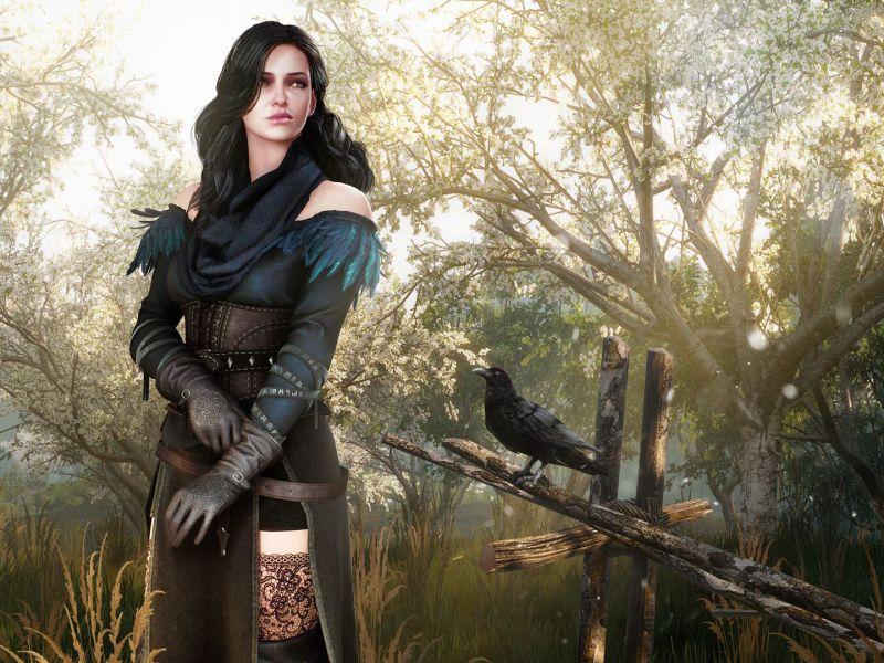 The Witcher: la maga Yennefer sexy e in lingerie in questo cosplay di YuzuPyon