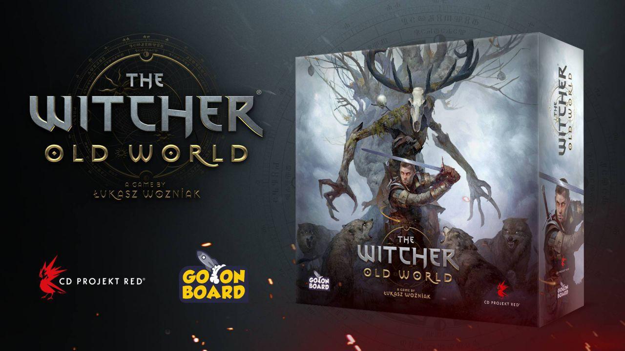 The Witcher Old World è in arrivo: la serie CD Projekt diventa un gioco da tavolo