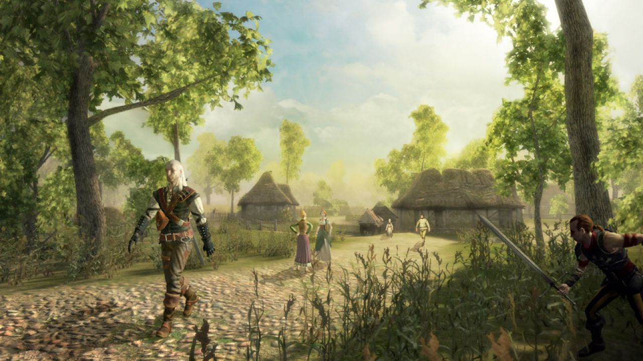 The Witcher: Rise of the White Wolf per console ancora possibile