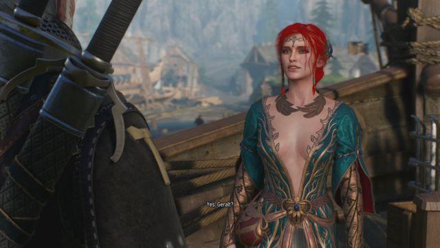 The Witcher 3 Wild Hunt: alcune modifiche all'arco amoroso con Triss