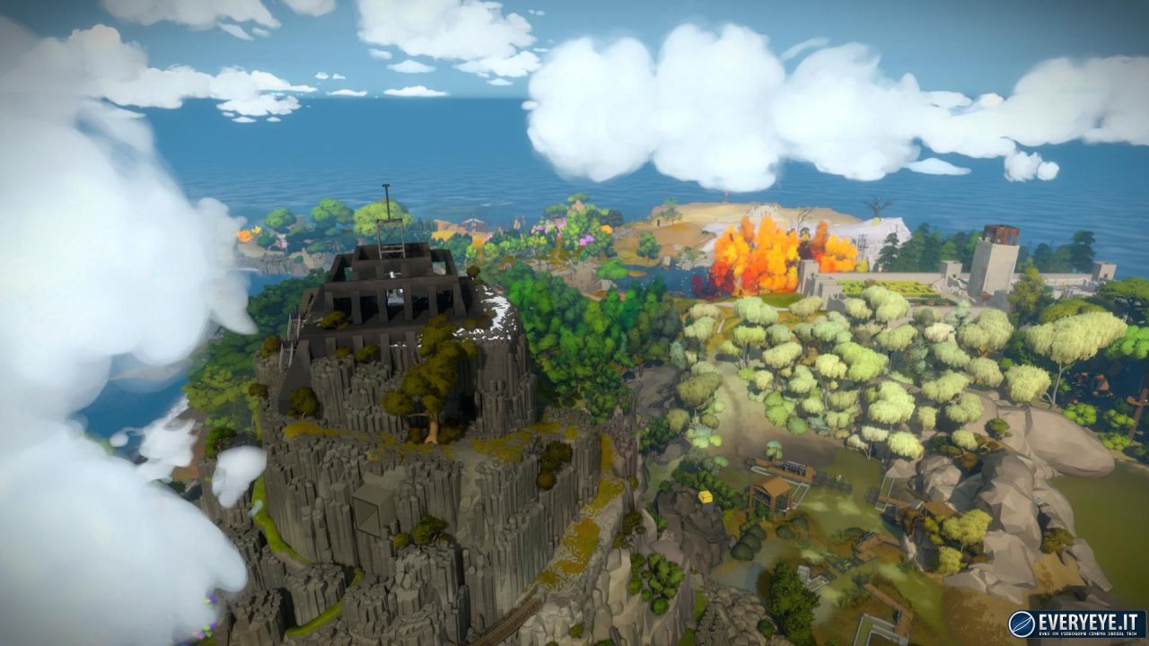 The Witness: video gameplay della versione PlayStation 4