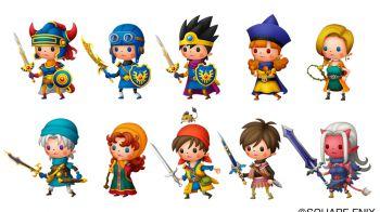 Theatrhythm Dragon Quest si mostra in due nuovi video gameplay