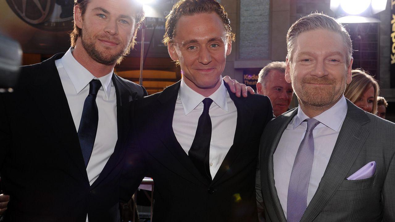 Thor, Kenneth Branagh su Chris Hemsworth e Tom Hiddleston: 'Scelta storica per la Marvel'