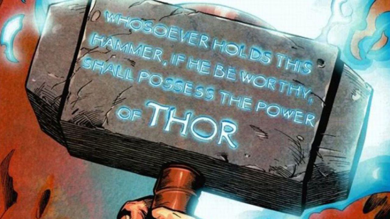 Thor: svelate le origini del mitico martello Mjolnir