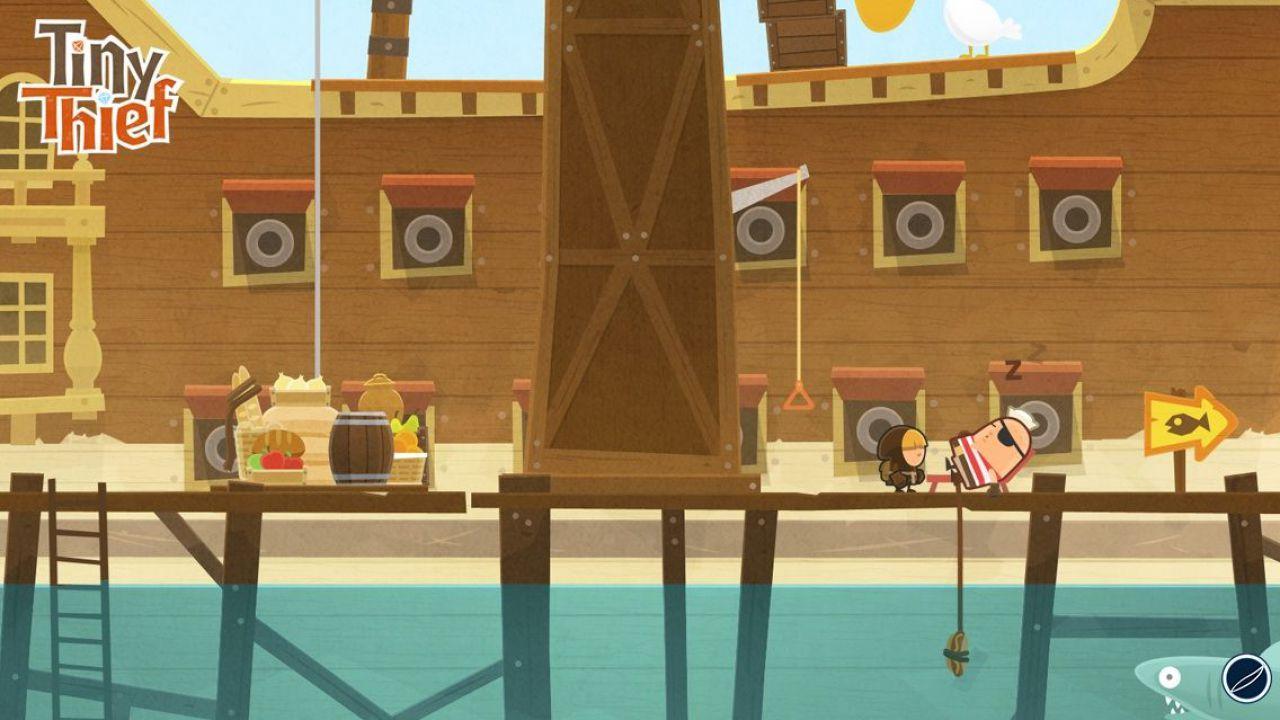 Tiny Thief: un trailer presenta il nuovo gioco Mobile targato Rovio Stars