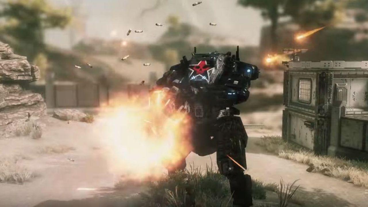 Titanfall 2: un filmato per l'armamentario del titano Legion