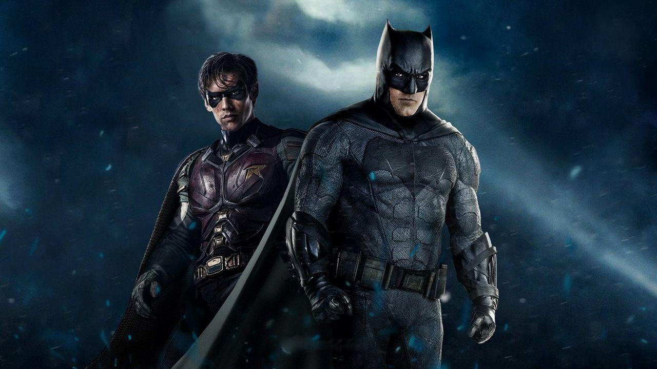 Titans: il look di Batman nelle sequenze del backstage dello show