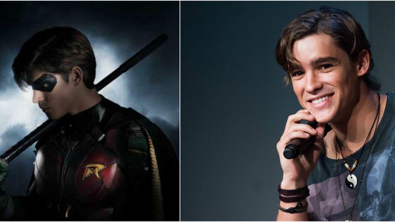 Titans: primissima occhiata a Robin, interpretato da Brenton Thwaites!