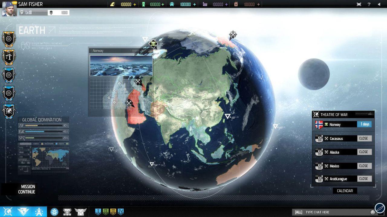 Tom Clancy EndWar Online: UbiSoft annuncia un evento open server