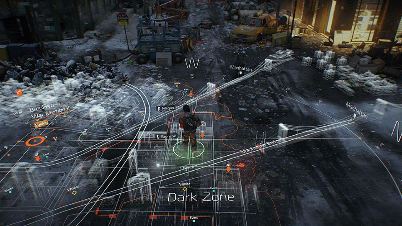 Tom Clancy's The Division: video gameplay alla Gamescom