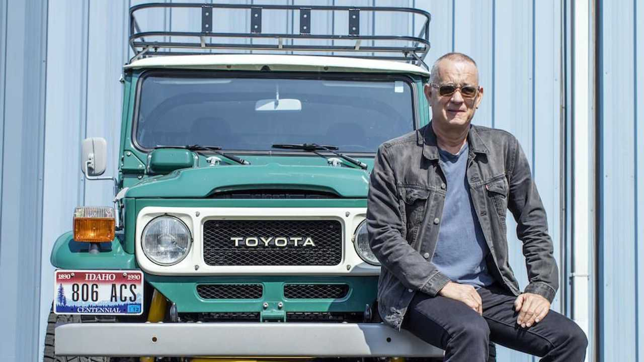 Tom Hanks vende la sua personale Toyota Land Cruiser