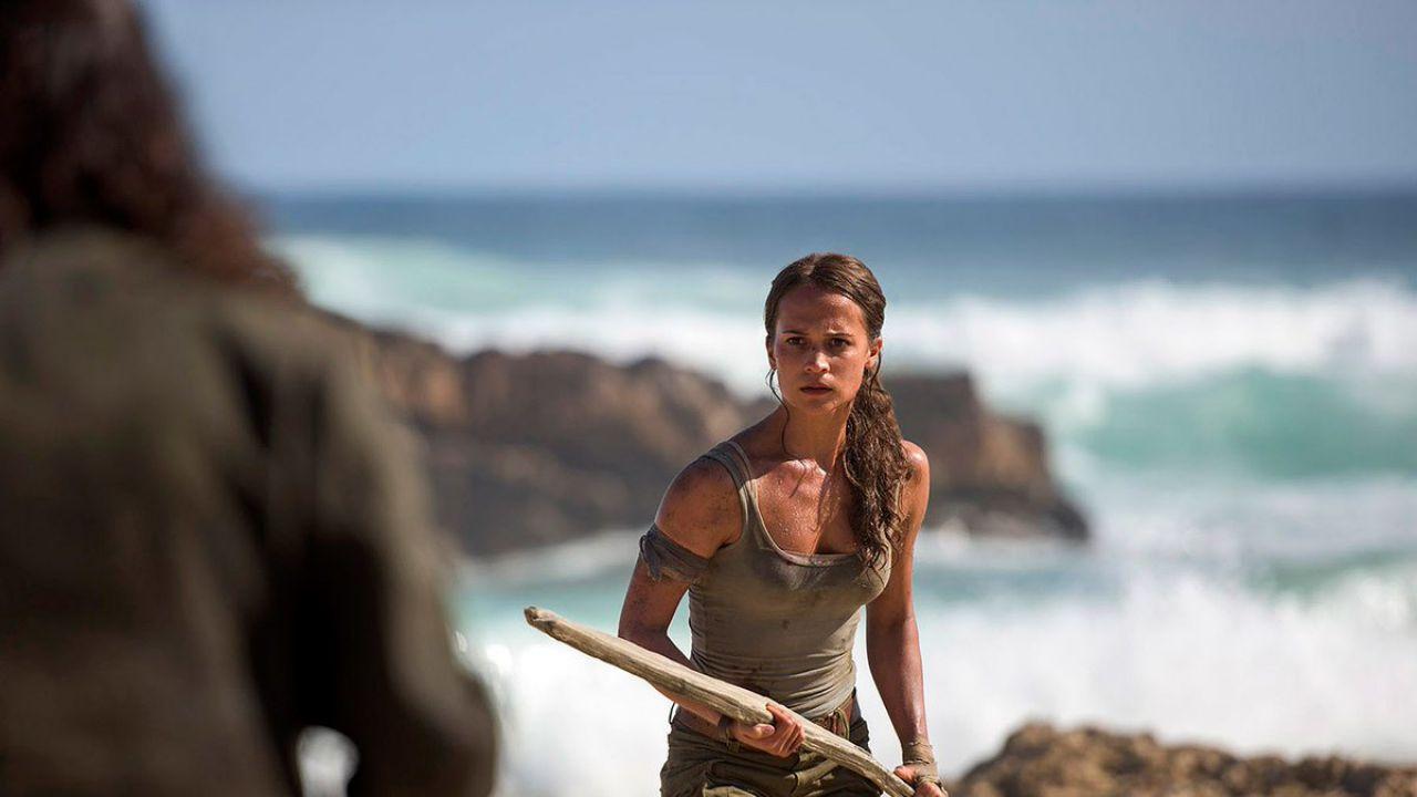 Tomb Raider: nuovo poster e un'anticipazione del primo trailer in arrivo domani!