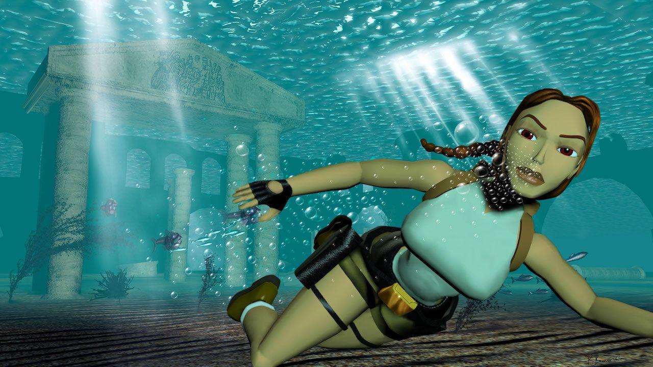 Tomb Raider: vediamo una sequenza filmata eliminata dal primo episodio della serie