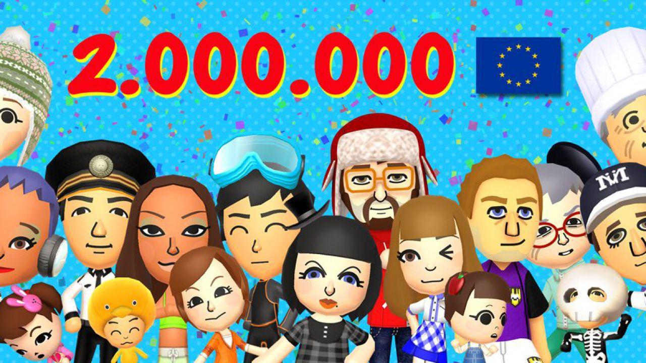 Tomodachi Life: due milioni di copie vendute in Europa