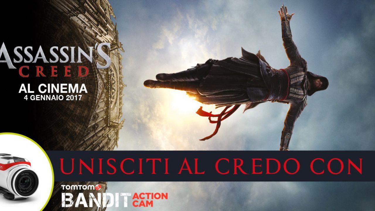 TomTom: un concorso per vincere l'action cam Bandit grazie ad Assassin's Creed