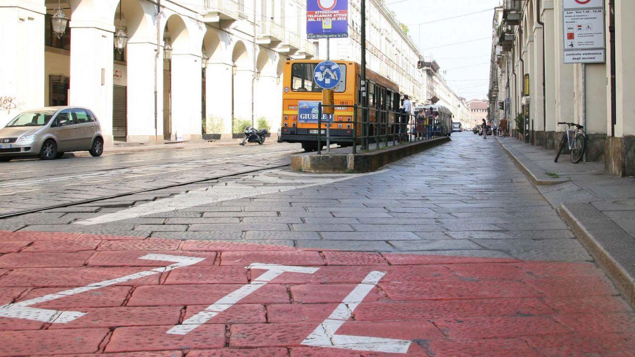 Torino: ZTL in centro dalle 7:30 alle 19:30, l'ingresso costerà dai 3 ai 5 Euro