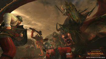 Total War Warhammer: video gameplay per Il Richiamo degli Uominibestia