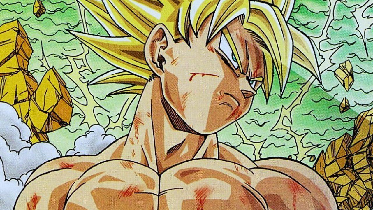Toyotaro Autore Del Manga Di Dragon Ball Super Ci Insegna A Disegnare Goku Super Saiyan