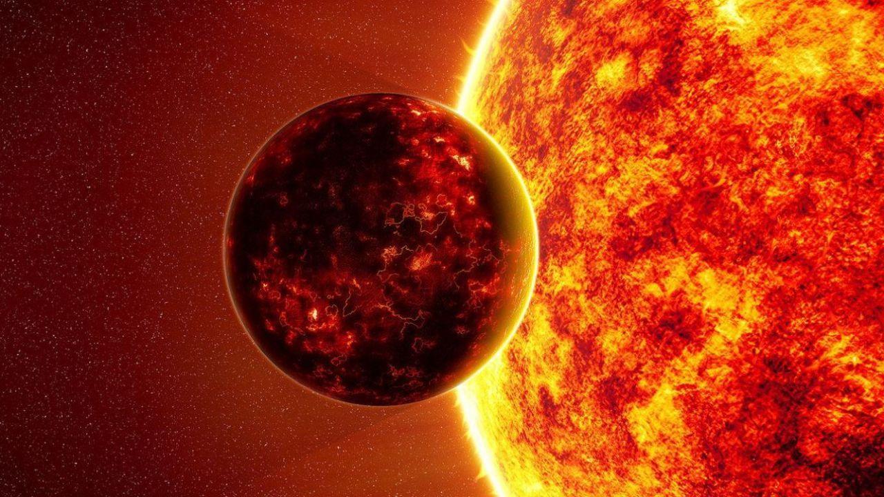 Tra due anni il sole inizier il suo ciclo di attivit minima - Immagine di terra a colori ...
