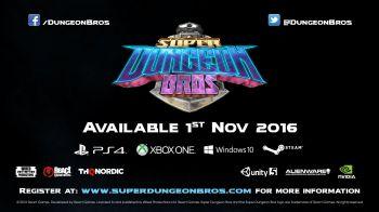 Trailer e data d'uscita per il dungeon crawler Super Dungeon Bros