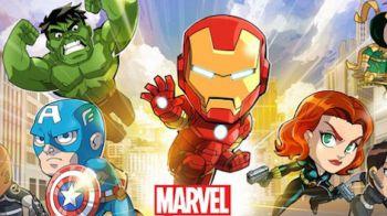 Trailer di debutto per Marvel Run Jump Smash!
