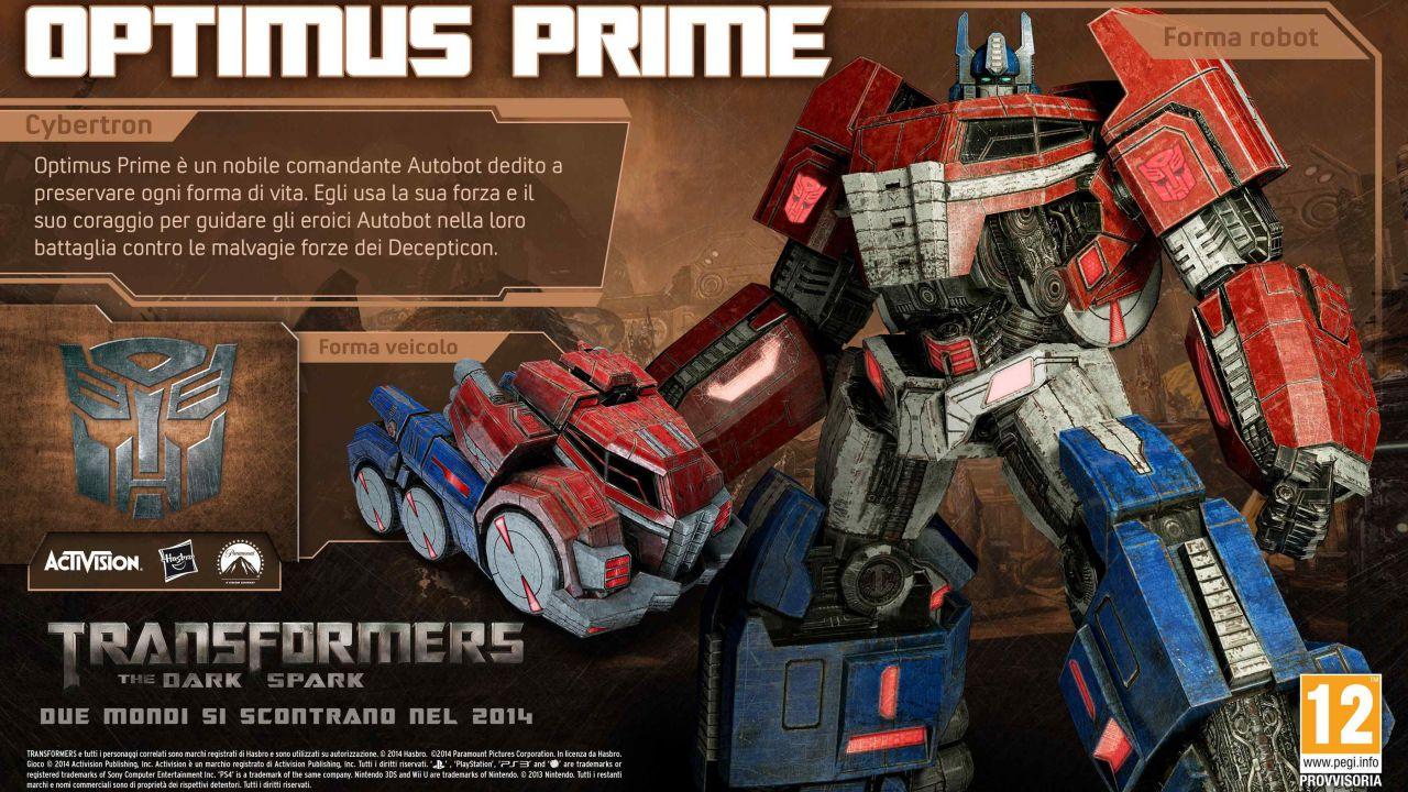 Transformers Rise of the Dark Spark - pubblicate le boxart di Wii U e 3DS