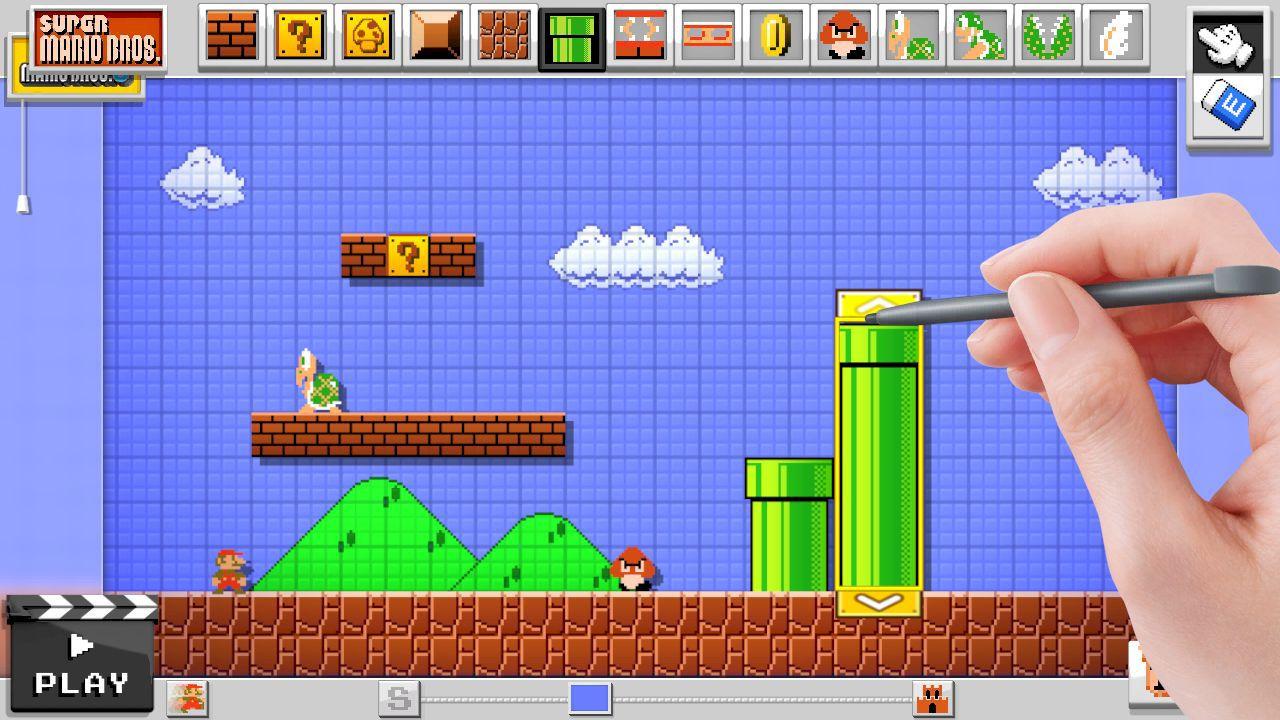 Trapela una possibile data di uscita per Mario Maker