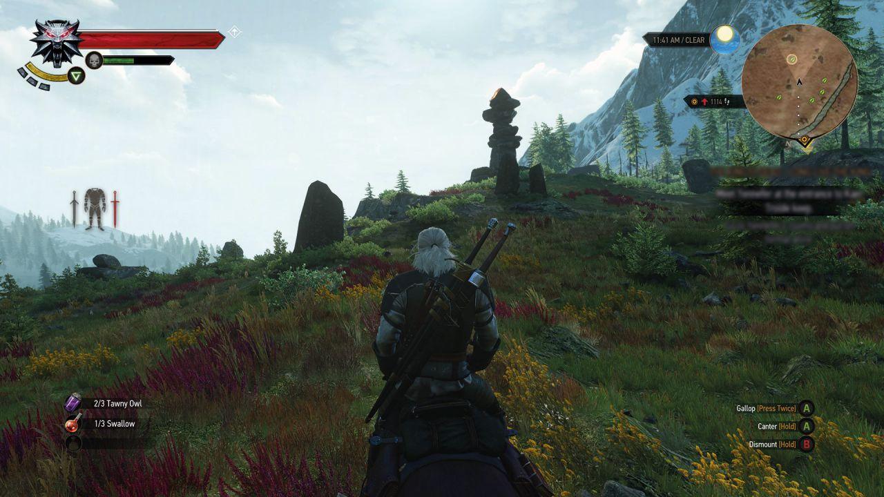 Trapela un video della versione Xbox One di The Witcher 3: Wild Hunt