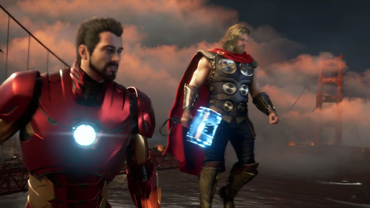finest selection 57c0f 17841 Trapela il primo video gameplay di Marvel's Avengers dal ...