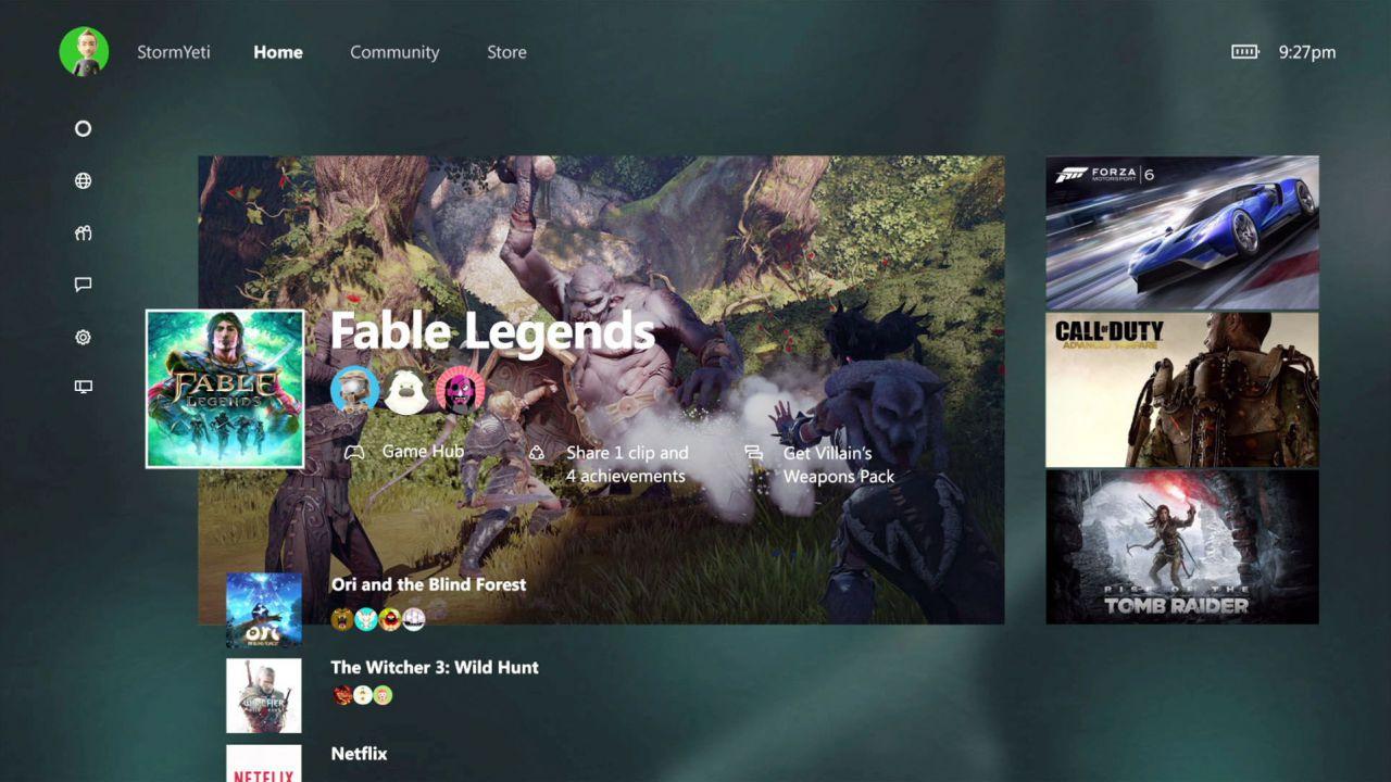 Trapelano i primi video dedicati alla nuova interfaccia di Xbox One
