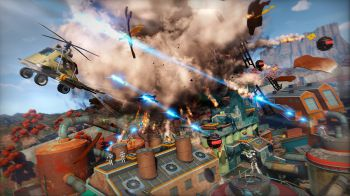 Trappole e nemici robotici infestano Dawn of the Rise of the Fallen Machines, il nuovo DLC di Sunset Overdrive