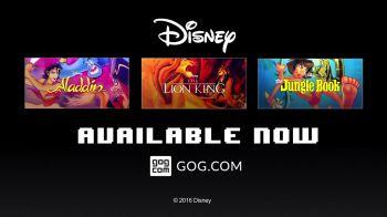 Tre classici Disney dell'era 16bit da ora in vendita su GOG