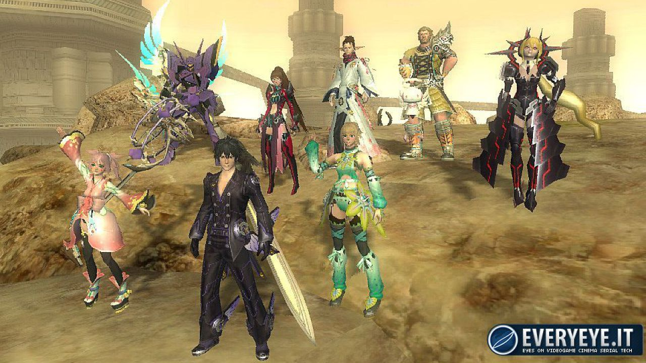 Tre Trailer TGS 2012 per Phantasy Star Online 2