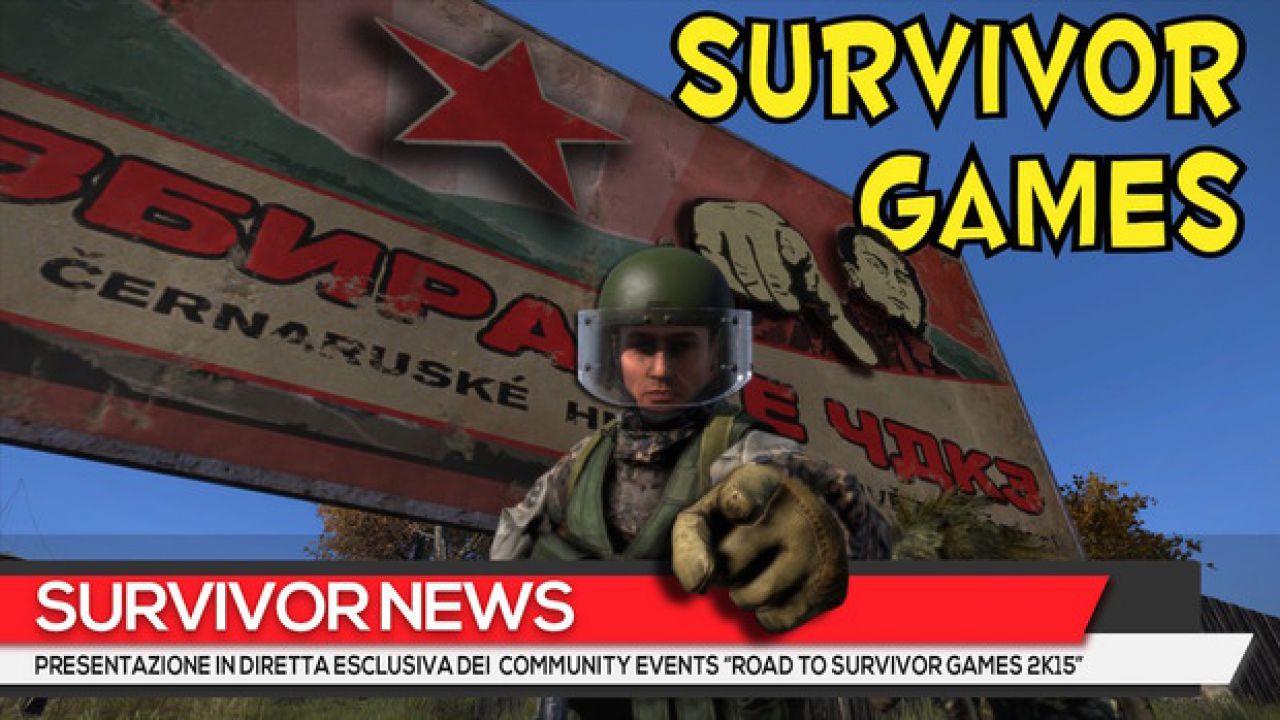 True DayZ: Road to Survivor Games 2K15 - Primo Evento Blood Marathon