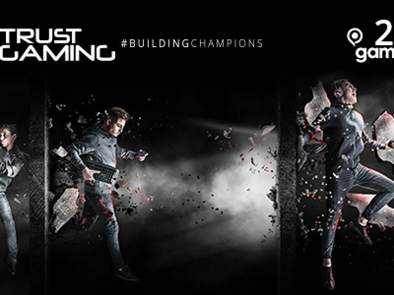 Trust Gaming lancerà #buildingchampions al GamesCom 2017