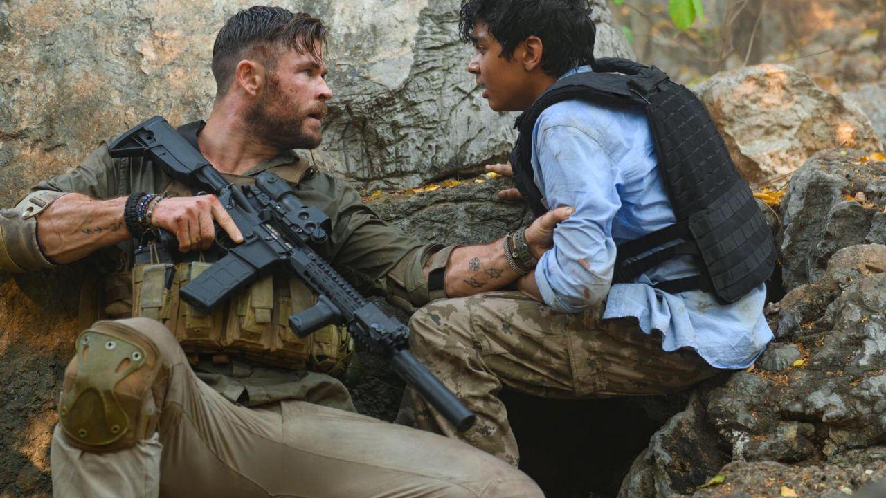 Tyler Rake, Chris Hemsworth ci mostra un incredibile piano sequenza dal film Netflix