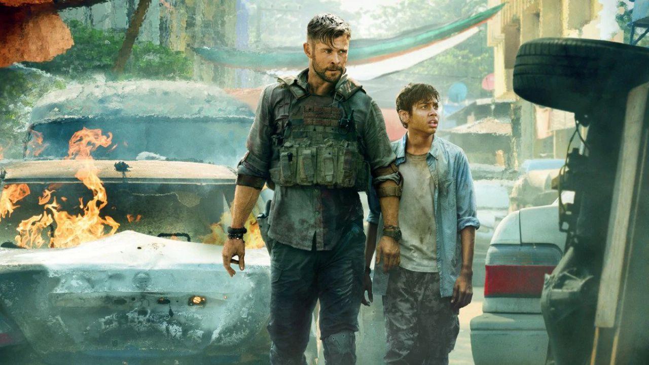 Tyler Rake, Chris Hemsworth ringrazia i fan per il successo del film su Netflix