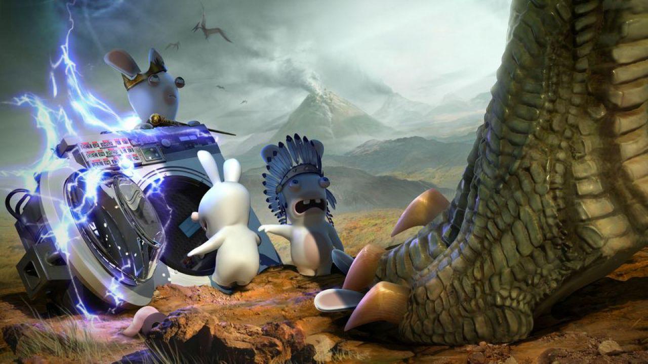 Ubisoft annuncia Rabbids Travel in Time per Nintendo Wii