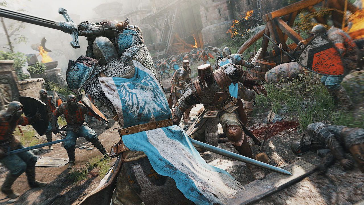 Ubisoft semina morte e distribuzione con For Honor