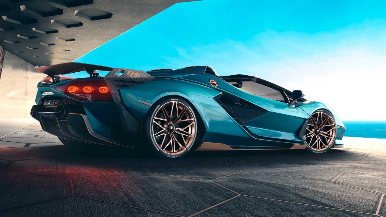 Ufficiale la Lamborghini Sian Roadster: ecco i dettagli sulla potentissima convertibile