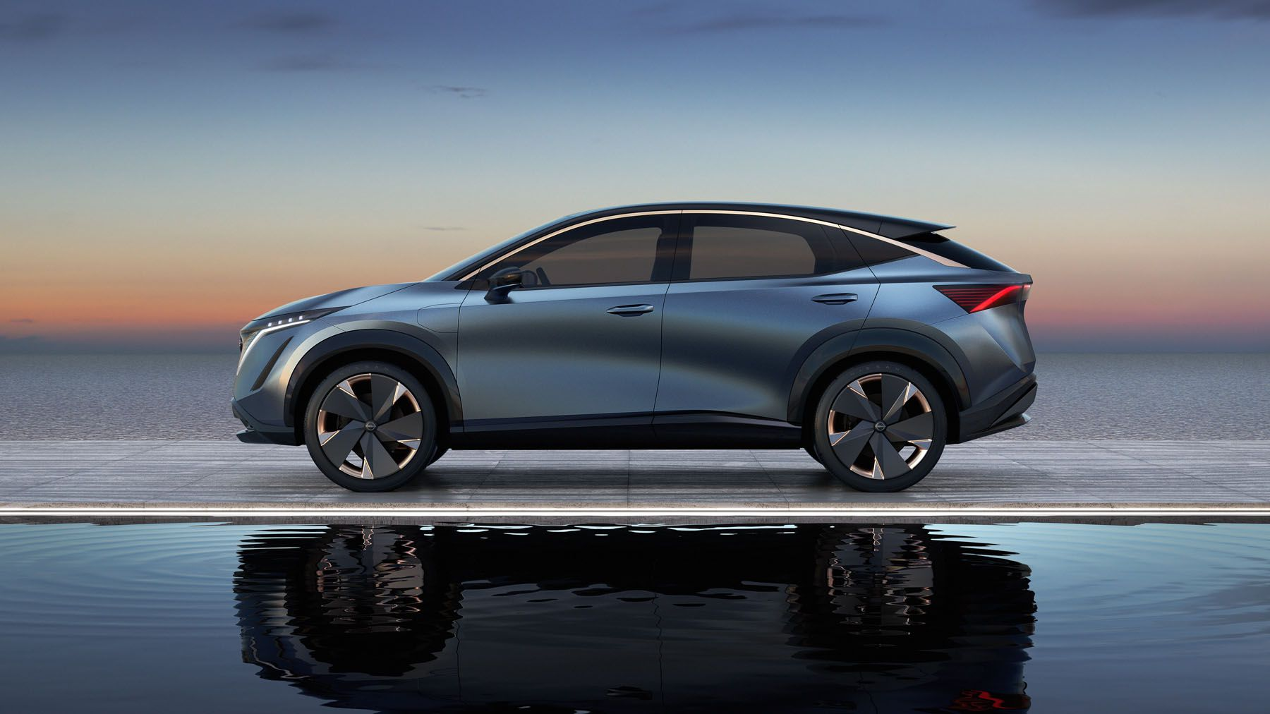 Ufficiale il Nissan Ariya, il SUV elettrico pronto per la ...