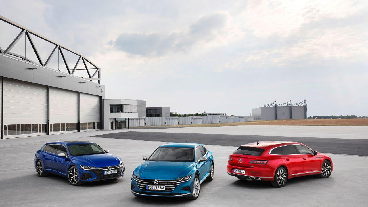 Ufficiale la Volkswagen Arteon 2020, in arrivo anche in versione Shooting Brake