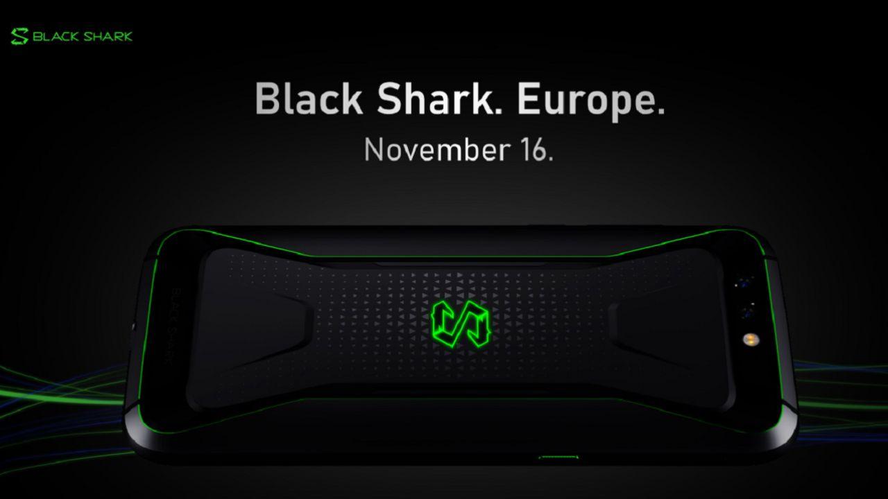 Ufficiale: Xiaomi Black Shark arriva in Europa dal 16 novembre