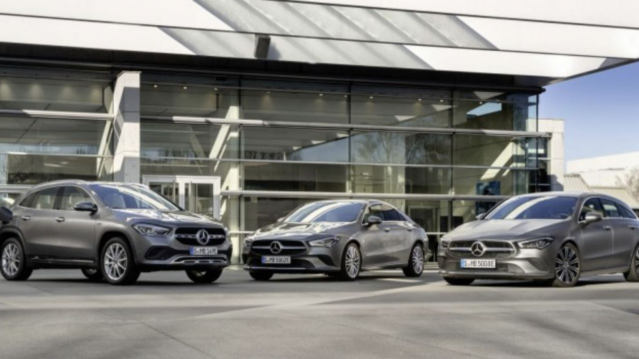 Ufficiali le Mercedes GLA e CLA EQ Power ibride plug-in