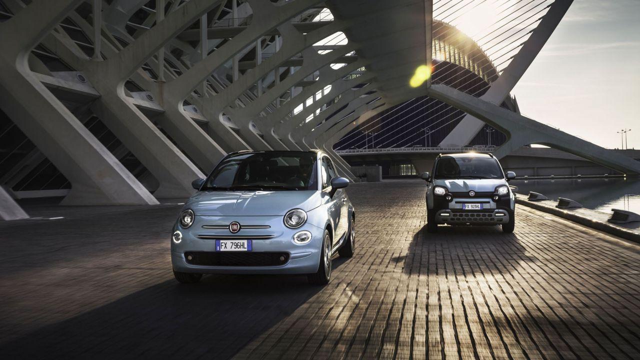 Ufficiali le nuove Fiat Panda Hybrid e Fiat 500 Hybrid con motore Firefly 3 cilindri